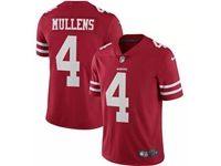 Mens Nfl San Francisco 49ers #4 Nick Mullens Red Vapor Untouchable Limited Jersey