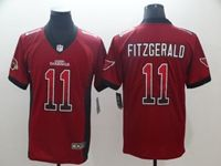 Mens Nfl Arizona Cardinals #11 Larry Fitzgerald Red Drift Fashion Vapor Untouchable Limited Jersey