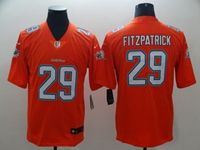 Mens Miami Dolphins #29 Minkah Fitzpatrick Orange Vapor Untouchable Limited Player Jersey