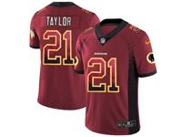 Mens Nfl Washington Redskins #21 Sean Taylor Red Drift Fashion Vapor Untouchable Limited Jersey