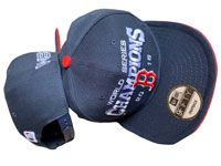 Mlb Boston Red Sox Dark Blue World Series Champons Adjustable Snapback Hats