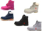 Men And Women Boots Shoes Many Clour