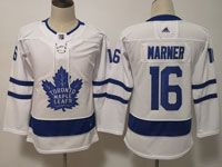 Youth Women Nhl Toronto Maple Leafs #16 Mitchell Marner White Hockey Adidas Jersey
