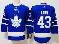 Youth Women Nhl Toronto Maple Leafs #43 Nazem Kadri Blue Hockey Adidas Jersey
