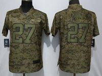 Mens Womens Nfl Kansas City Chiefs #27 Kareem Hunt 2018 Camo Salute To Service Limited Jersey