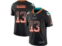 Mens Miami Dolphins #13 Dan Marino 2018 Usa Flag Fashion Black Vapor Untouchable Limited Jersey