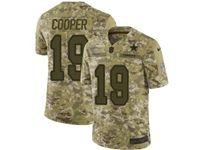 Mens Nfl Dallas Cowboys #19 Amari Cooper 2018 Camo Salute To Service Limited Jersey