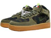 Men And Women Nike Air Force 1 Jewel Mid Boots Shoes 1 Clour