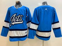 Mens Nhl Winnipeg Jets Blank Light Blue Adidas Jersey