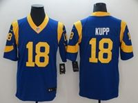 Mens Nfl Los Angeles Rams #18 Cooper Kupp Light Blue 2019 Super Bowl Liii Bound Vapor Untouchable Limited Jersey
