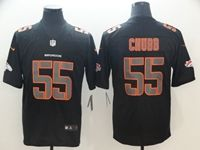 Mens Nfl Denver Broncos #55 Bradley Chubb 2018 Fashion Impact Black Vapor Untouchable Limited Jersey