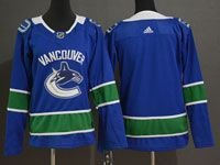 Women Youth Nhl Vancouver Canucks Blank Blue Home Adidas Player Jersey