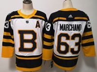 Women Youth Nhl Boston Bruins #63 Brad Marchand 2019 Winter Classic Black Home Adidas Jersey