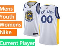 Mens Nba Golden State Warriors Current Player White Swingman Nike Jersey