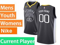 Mens Nba Golden State Warriors Current Player Nike Black Statement Edition Swingman Jersey