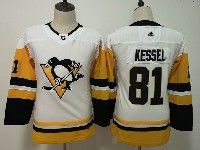 Youth Women Nhl Pittsburgh Penguins #81 Phil Kessel White Adidas Jersey