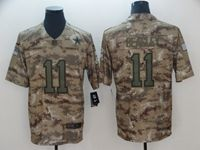 Mens Nfl Dallas Cowboys #11 Cole Beasley 2018 Camo Salute To Service Limited Jersey