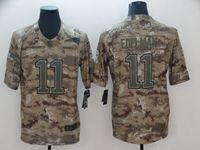 Mens Nfl New England Patriots #11 Julian Edelman 2018 Camo Salute To Service Limited Jersey