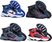 Men Nike M2k Tekno Mid Runing Shoes 4 Clour