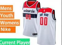 Mens Womens Youth Nba Washington Wizards Current Player White Swingman Nike Jersey