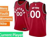 Mens Womens Youth 2018-2019 Nba Toronto Raptors Current Player Red Nike Swingman Jersey