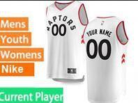 Mens Womens Youth 2018-2019 Nba Toronto Raptors Current Player White Nike Swingman Jersey