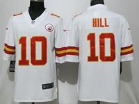 Mens Nfl Kansas City Chiefs #10 Tyreek Hill White 2017 Vapor Untouchable Limited Player Jersey