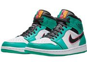 Mens Nike Air Jordan 1 Mid Aj1 Basketball Shoes 1clour