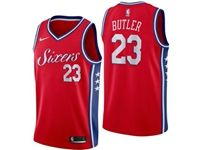 Mens Nba Philadelphia 76ers #23 Jimmy Butler Red Swingman Nike Jersey