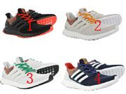 Men Adidas Ultra Boost 4.0 D11 Multicolor Running Shoes  4 Clours