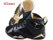 Men And Women Air Jordan 7 Sweater Basketball Shoes 4 Clour