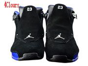 Men Air Jordan 18 Black Sport Royal Basketball Shoes 4 Clour