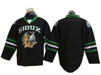 Mens Nhlnorth Dakota Fighting Sioux Bank Black Hockey Jersey