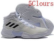 Mens Adidas Pro Bounce Basketball Shoes 5 Colour
