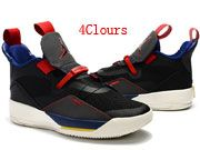 Men Air Jordan 33 Basketball Shoes  4 Clours