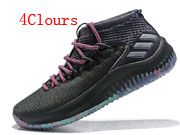 Men Adidas D Lillard 4 Basketball Shoes  4 Clours