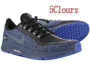 Men And Women Nike Air Zoom Pegasus 35 Shield Running Shoes 5 Clour