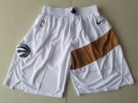 Mens Nba Toronto Raptors White Nike City Edition Shorts