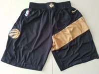 Mens Nba Toronto Raptors Black Nike City Edition Shorts