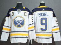 Mens Nhl Buffalo Sabres #9 Jack Eichel White Adidas Jersey