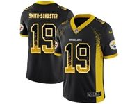 Mens Nfl Pittsburgh Steelers #19 Juju Smith-schuster Black 2018 Drift Fashion Vapor Untouchable Limited Jersey