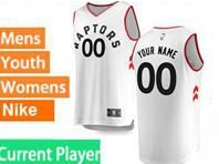 Mens Womens Youth 2018-2019 Nba Toronto Raptors Current Player White Nike Swingman Jersey