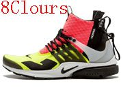 Men Nike Lab 16 Air Presto Mid Acronym Running Shoes 8 Clours