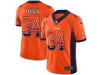 Mens Nfl Chicago Bears #34 Walter Payton Orange 2018 Drift Fashion Vapor Untouchable Limited Jersey