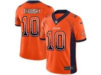 Mens Nfl Chicago Bears #10 Mitchell Trubisky Orange 2018 Drift Fashion Vapor Untouchable Limited Jersey
