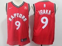 Mens 2018-19 Nba Toronto Raptors #9 Serge Ibaka Red Nike Swingman Jersey