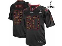 Mens Nfl San Francisco 49ers #80 Jerry Rice Black Camo Classic Elite Jersey