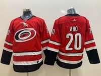 Youth Nhl Carolina Hurricanes #20 Sebastian Aho Red Home Adidas Jersey