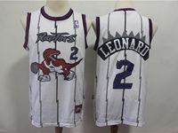 Mens Nba Toronto Raptors #2 Kawhi Leonard White Mitchell&ness Jersey