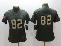 Women Nfl Dallas Cowboys #82 Jason Witten Green Salute To Service Limited Jersey